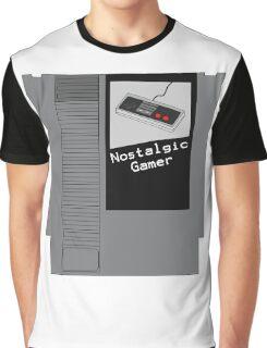NES Cartridge - Nostalgic Gamer Graphic T-Shirt