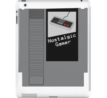 NES Cartridge - Nostalgic Gamer iPad Case/Skin