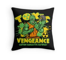 Toxic Vengeance Throw Pillow