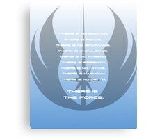 The Jedi Code  Canvas Print