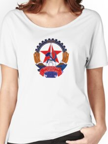 Emblem of Moscow, 1924-1993 Women's Relaxed Fit T-Shirt