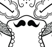 Psyduck de los Muertos | Pokemon & Day of The Dead Mashup Sticker