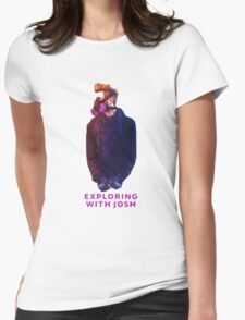 Exploring with Josh Womens Fitted T-Shirt