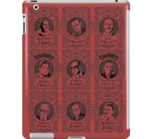 tango leaders in black and red iPad Case/Skin