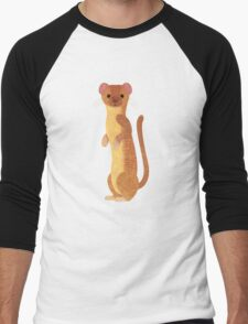 W is for Weasel Men's Baseball ¾ T-Shirt