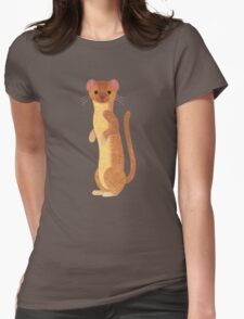 W is for Weasel Womens Fitted T-Shirt