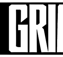 RL Grime Basic (WHITE) Sticker