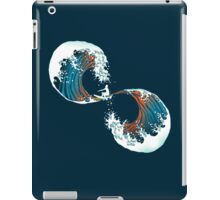 the wave is forever iPad Case/Skin