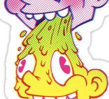 PukeFace Sticker