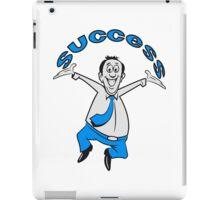 successful winner career joy iPad Case/Skin