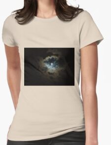 midnight pearl Womens Fitted T-Shirt