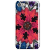 Pansy Fractal Art iPhone Case 2 iPhone Case/Skin