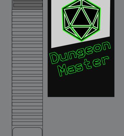 Dungeon Master NES Cartridge Mash Up Sticker