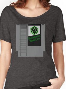 Dungeon Master NES Cartridge Mash Up Women's Relaxed Fit T-Shirt