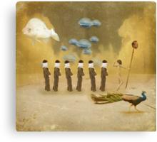 A parade of Fools Canvas Print