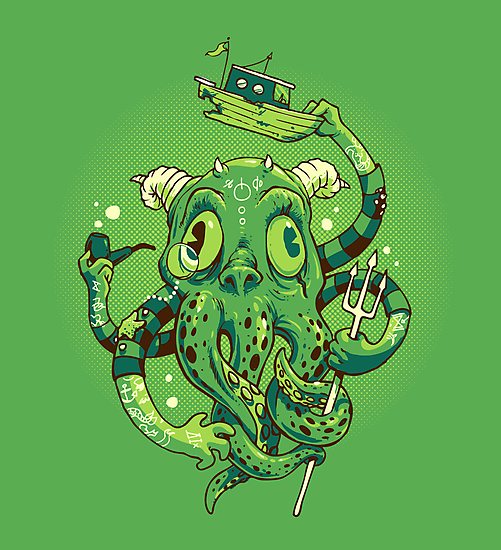 Sir Charles Cthulhu by Brian Cook
