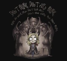 Don't Blink by saqman