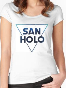 San Holo Cold Women's Fitted Scoop T-Shirt