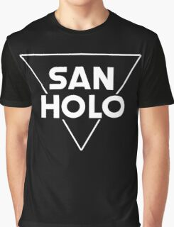 San Holo Basic (WHITE) Graphic T-Shirt