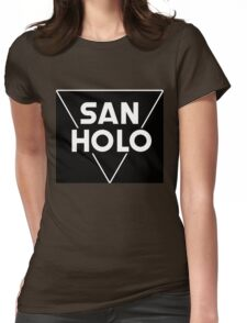 San Holo Basic (WHITE) Womens Fitted T-Shirt