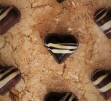 Chocolate Heartache Sticker