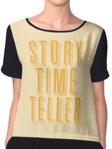 STORY TIME TELLER Chiffon Top