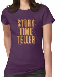 STORY TIME TELLER Womens Fitted T-Shirt