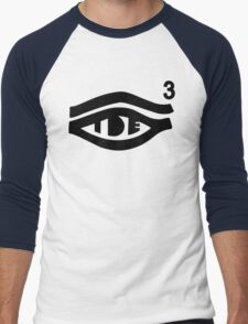 TDE Hiii Power Logo 3 Men's Baseball ¾ T-Shirt