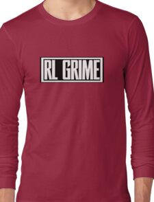 RL Grime Basic (WHITE) Long Sleeve T-Shirt