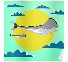 whale life  Poster