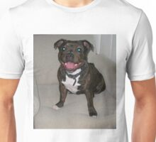 Happy Staffy Unisex T-Shirt