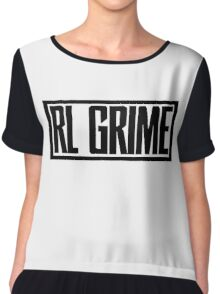 RL Grime Basic (BLACK) Chiffon Top