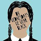 Wednesday Addams by mfefa