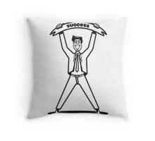 successful career winner Throw Pillow