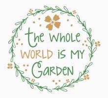 The world is my garden One Piece - Short Sleeve