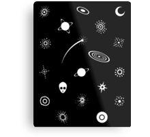 Patterns In Space Metal Print
