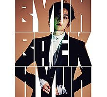 EXO Baekhyun 'Monster' Typography Photographic Print
