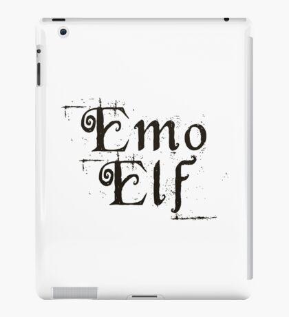 EMO ELF (Critical Role Fan Design) (Black) iPad Case/Skin