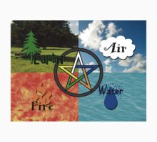 Earth,Air,Fire,Water by Kami Catherman