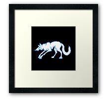 Sly Ol' Dog Framed Print