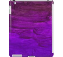 Abstract watercolor hand paint magenta texture  iPad Case/Skin
