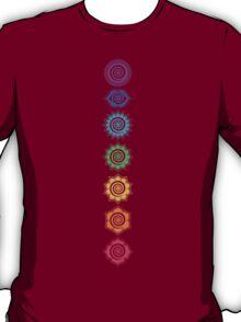 7 Chakras - Cosmic Energy Centers  T-Shirt