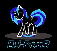 DJ Pon-3 Pillow by Steven Hoag