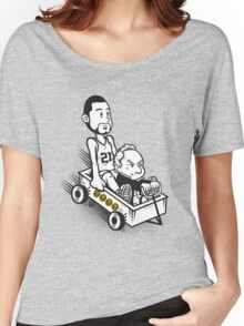 Fundamental Duo Women's Relaxed Fit T-Shirt