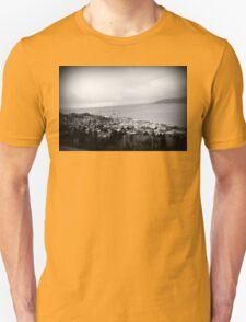 view from the Astoria Column Astoria–Megler Bridge T-Shirt