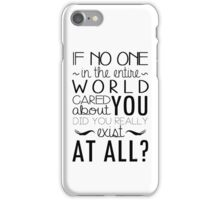 The Infernal Devices Quote iPhone Case/Skin