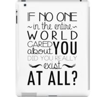 The Infernal Devices Quote iPad Case/Skin