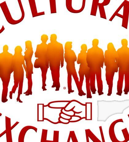 Cultural Exchange Sticker