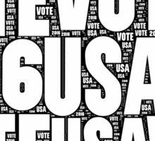 Vote USA 2016 Sticker