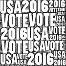 Vote USA 2016 by Henrik Lehnerer
